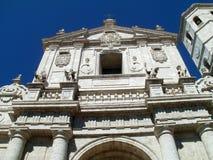 Valladolid-Kathedrale lizenzfreie stockfotos