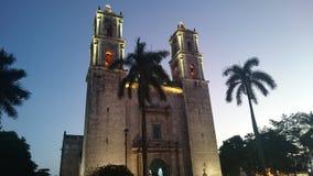 Valladolid-Kirche Stockbilder