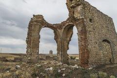 Valladolid-Kirche von San Benito Stockbilder