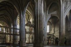 Valladolid-Kirche von San Benito Stockfotografie