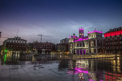 Valladolid, major square Royalty Free Stock Photography