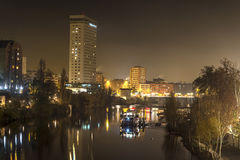 Valladolid in the night Stock Photo