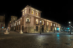Valladolid palace in the night Royalty Free Stock Photo