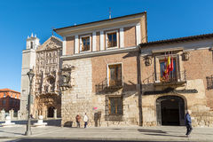 Valladolid Pimentel Palace Royalty Free Stock Images