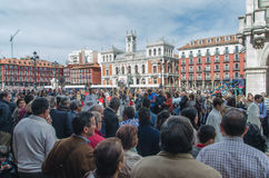 Valladolid procession Royalty Free Stock Image