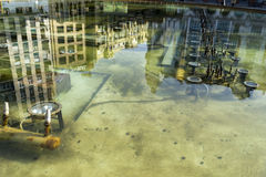 Valladolid reflections Royalty Free Stock Images