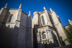 Valladolid, San Paul Royalty Free Stock Photography