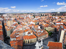 Valladolid skyline, Spain Stock Images