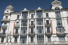 Valladolid Spain: historic building Stock Images