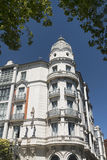 Valladolid Spain: strange building Stock Photos