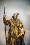 Valladolid statue museum Stock Photo