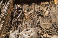 Valladolid statue museum Royalty Free Stock Image