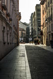 Valladolid, street of the Weight Stock Images