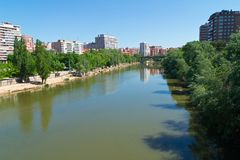 Valladolid Sunny Day Stock Photos
