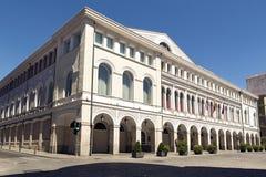 Valladolid. Teatro Calderon de la Barca in Valladolid, Spain Royalty Free Stock Image