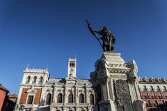 Valladolid, town hall Royalty Free Stock Photos