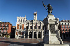 Valladolid, town hall Stock Images