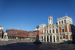 Valladolid, town hall Stock Image