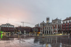 Valladolid, town hall Royalty Free Stock Photography