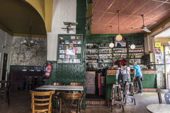 Valladolid typical bar Royalty Free Stock Image