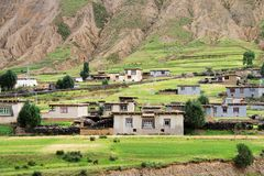 Vallage Himalayan fotos de stock royalty free