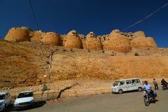Vallarna Jaisalmer fort Rajasthan india royaltyfri bild