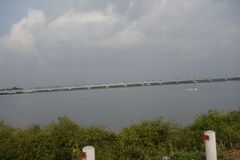 VALLARPADAM海岛,喀拉拉,印度 免版税库存图片