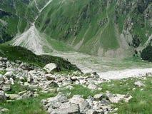 Vallata della montagna Fotografia Stock Libera da Diritti