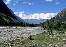 Vallata della montagna Fotografie Stock Libere da Diritti