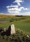 Vallate del Yorkshire Fotografie Stock