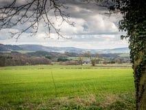 Vallate di Derbyshire Immagini Stock Libere da Diritti
