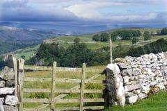 Vallate di Yorkshire Fotografia Stock Libera da Diritti