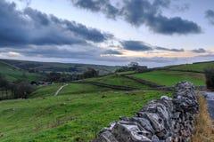 Vallate di Yorkshire Fotografia Stock