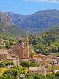 Valldemosa on Majorca Stock Image
