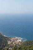 Valldemossa. View on Port de Valldemossa, Mallorca stock photography