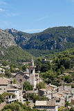 Valldemossa. Village and municipality on the island of Majorca, part of the Spanish autonomous community of the Balearic Islands royalty free stock photo