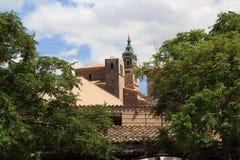 Valldemossa Charterhouse i Majorca Arkivbild