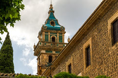 Valldemossa Charterhouse in Spain Royalty Free Stock Image