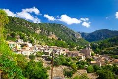Valldemossa city, Mallorca, Spain Stock Image