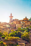 Valldemossa by i Mallorca Royaltyfri Fotografi