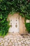 Valldemossa, jardín de Frederick Chopins imagen de archivo