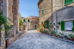 Valldemossa, Mallorca royalty-vrije stock afbeelding