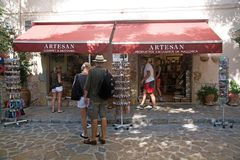 Shopping Valldemossa Royalty Free Stock Images