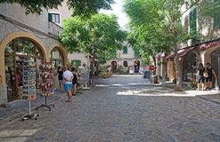 Shopping Valldemossa Royalty Free Stock Photography