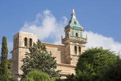 Valldemossa, Palma de Mallorca/España 12 de octubre de 2017 O Cartuja é um palácio onde seja residência do rei Sancho foto de stock
