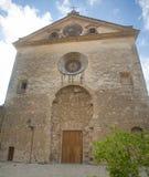 Valldemossa, Palma de Mallorca, España/ 12 De Octubre De 2017 Parafia Sant Bartomeu obraz royalty free