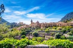 Valldemossa. Photograph of Valldemossa village, Mallorca, Spain stock image