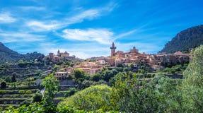 Valldemossa. Photograph of Valldemossa village, Mallorca, Spain stock photography