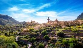 Valldemossa. Photograph of Valldemossa village, Mallorca, Spain stock photo