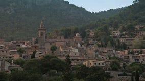 Valldemossa provincial town. Palma de Mallorca, Spain, Balearic Islands August 2013 stock video footage